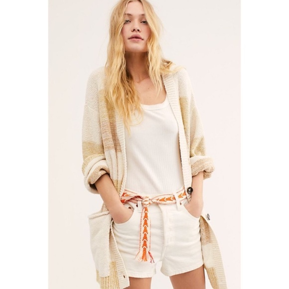 Free People Southport Beach Cardigan New with tags